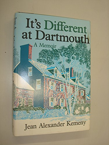 9780828903585: It's Different at Dartmouth: A Memoir
