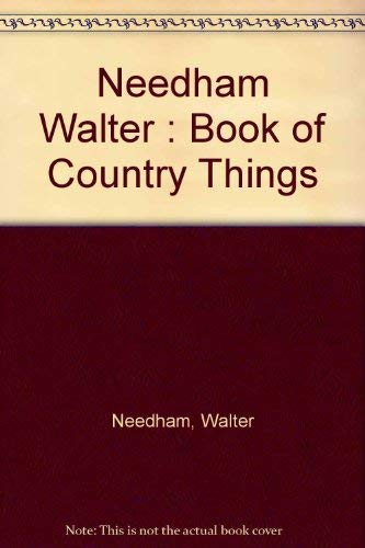 9780828904612: A Book of Country Things