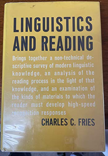 9780829006841: Linguistics and Reading