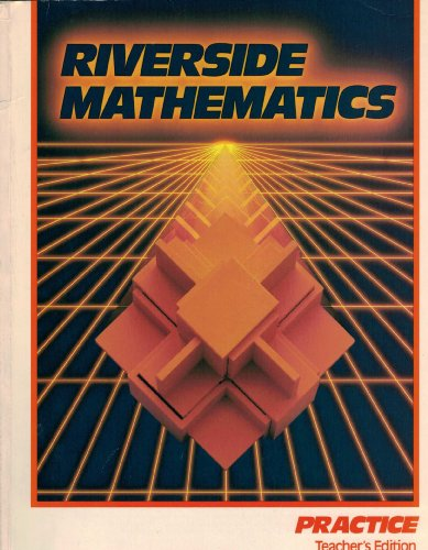 9780829248951: Riverside Mathematics: Practice Teacher's Edition