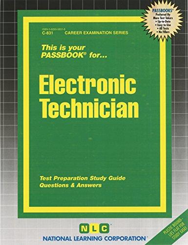 9780829308310: Electronic Technician (Passbooks)