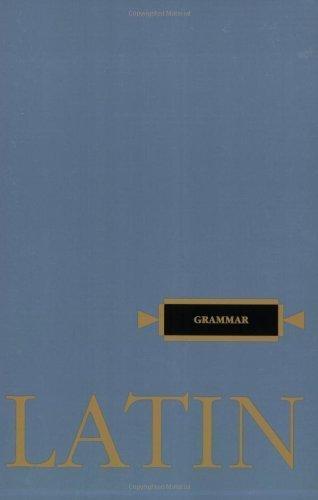 Henle Latin Grammar: Henle, Robert J.