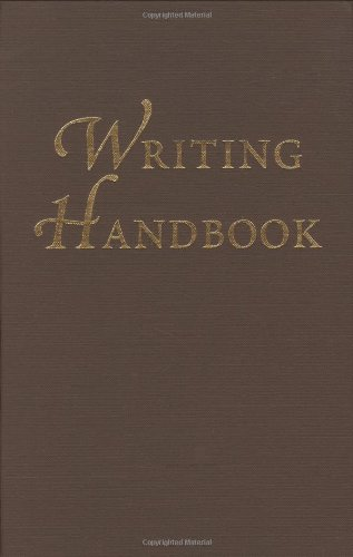 9780829409109: Writing Handbook