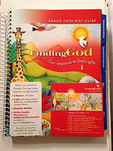 9780829418576: Grade 1: Parish Catechist Guide: Our Response to God's Gifts (Finding God 2005, 2007)
