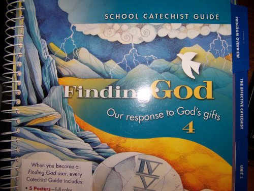 9780829418668: Grade 4: School Catechist Guide: Our Response to God's Gifts (Finding God 2005, 2007)