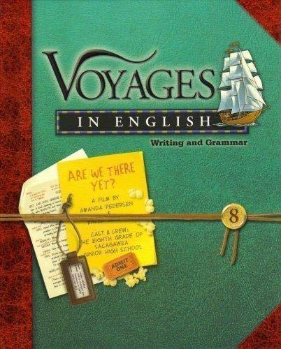 9780829420913: Voyages in English Writing and Grammar 8