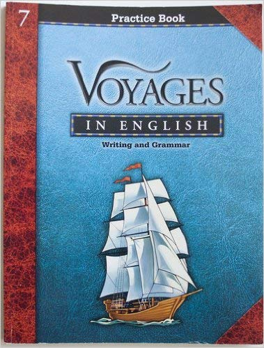 9780829420968: Voyages in English - 7 (Grade 7 Practice Book - writing & Grammar)