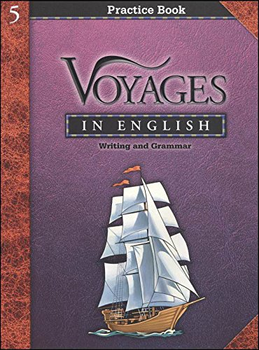 9780829421064: Voyages in English Practice Book Writing and Grammar (Grade 5)