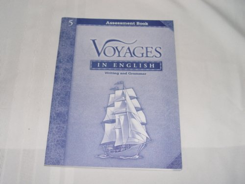 9780829421101: Voyages in English Writing and Grammar Assessment Book Grade 5