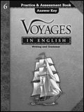 9780829421736: Voyages in English 6 Practice & Assessment Book Answer Key