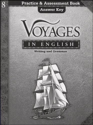 9780829421750: Voyages in English Writing and Grammar 8 (Practice & Assessment Book Answer Key)