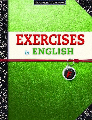 9780829423389: Exercises in English Level F: Grammar Workbook (Exercises in English 2008)
