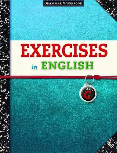 9780829423396: Exercises in English Level G: Grammar Workbook (Exercises in English 2008)