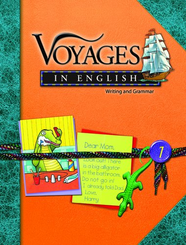 9780829423587: Grade 1: Writing and Grammar (Voyages in English 2006)