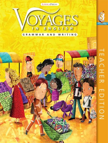 9780829428247: Grade Level 5: Teacher Edition: Grammar and Writing (Voyages in English 2011)