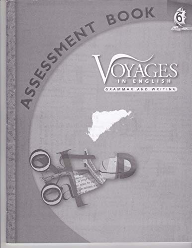 9780829428377: Grade Level 6 Assessment Book (Voyages in English 2011)
