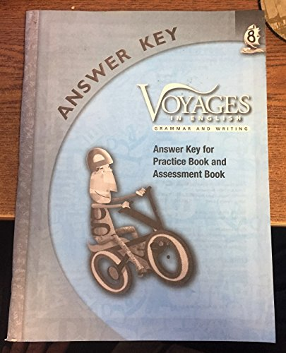 9780829428469: Grade Level 8 Answer Key: Answer Key For Practice Book and Assessment Book (Voyages in English 2011)