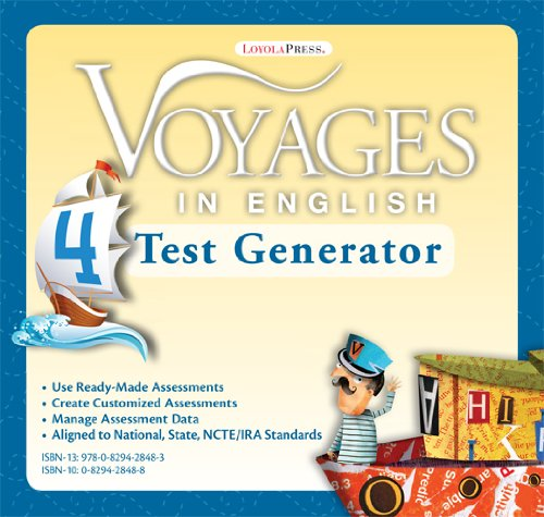 9780829428483: Grade Level 4 Test Generator: Assessment Suite (Voyages in English 2011)