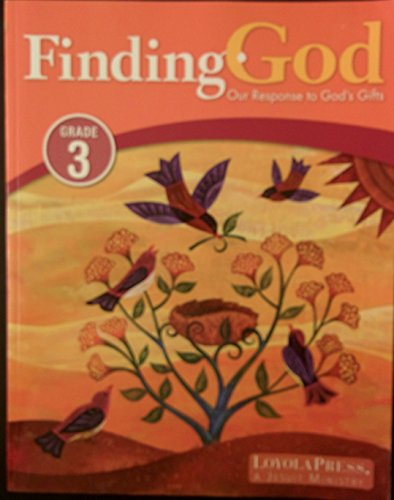 9780829431711: Finding God Our Response to God's Gifts Grade 3