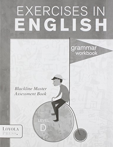 9780829436327: Exercises in English Level D (Grade 4) Assessment Book (Exercises in English 2008)