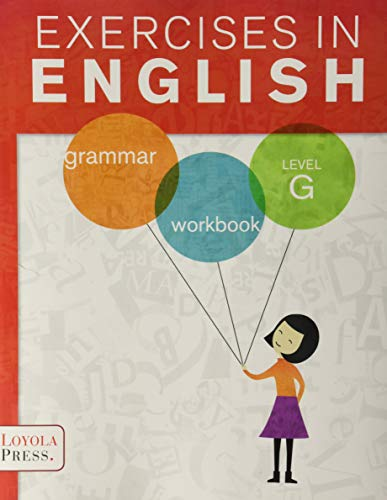 9780829436396: Exercises in English 2013 Level G Student Book: Grammar Workbook