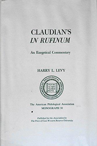 9780829502091: Claudian's