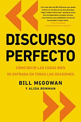 9780829701937: Discurso perfecto: Cómo decir las cosas bien de entrada en todas las ocasiones (Spanish Edition)