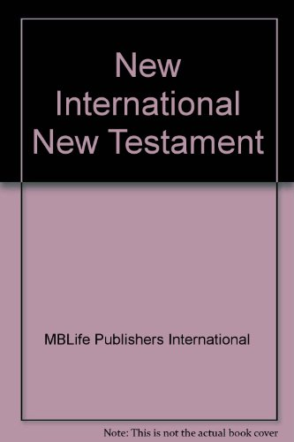 9780829704174: Nuevo Testamento: Nueva Version Internacional = New Testament : New International Version (Spanish Edition)