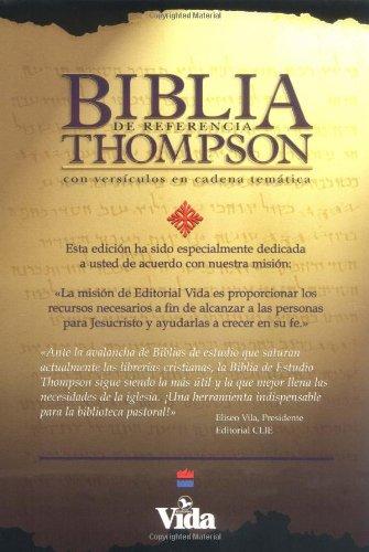9780829714418: Bíblia de Referencia Thompson Tela Rojo Oscuro