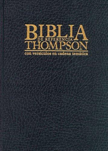 9780829714463: Biblia de Referencia Thompson-RV 1960