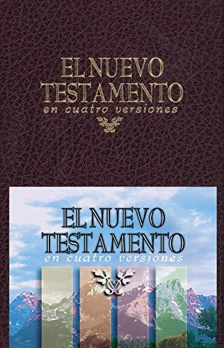9780829715132: El Nuevo Testamento en Cuatro Versiones - Tela Rojo (Spanish Edition)