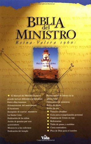 9780829720617: Biblia del Ministro / Ministry Bible: Reina Valera 1960, Negro, Piel Especial / Queen Valera Version, Black, Leather-look