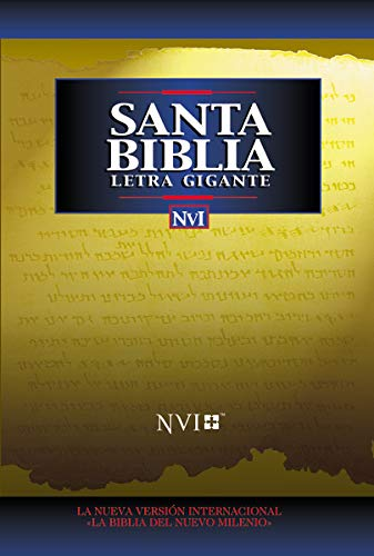 NVI Santa Bíblia Letra Gigante Imit Negro (0829723994) by Zondervan