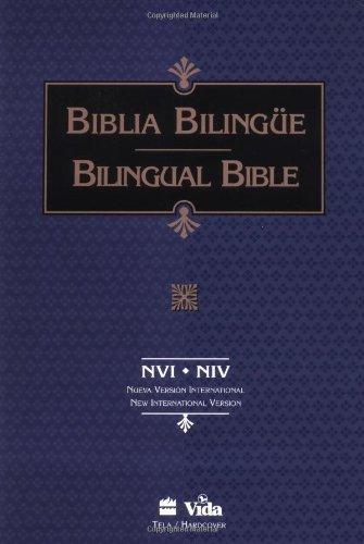 9780829724028: Santa Biblia/Holy Bible, NVI/NIV, Nueva Version Internacional/New International Version (Spanish and English Edition)