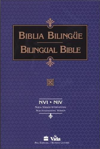9780829724042: NVI/NIV Santa Biblia/Holy Bible bilingual (Spanish and English Edition)