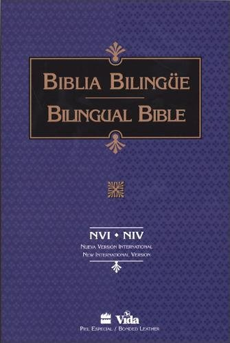 9780829724042: NVI/NIV Santa Biblia/Holy Bible bilingual (Spanish and English Edition)
