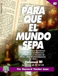 9780829726206: Para Que el Mundo Sepa (That the World May Know)