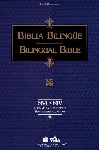 9780829727753: NVI/NIV Biblia Bilingüe, Imitación, Índice