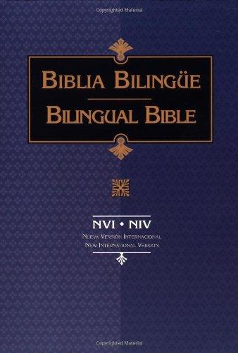 9780829732191: NVI-NIV Bible Biblia Bilingue (Spanish and English Edition)
