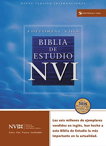9780829736984: Biblia De Estudio NVI / NVI Study Bible: Nueva Version Internacional, Imitacion Piel Fina