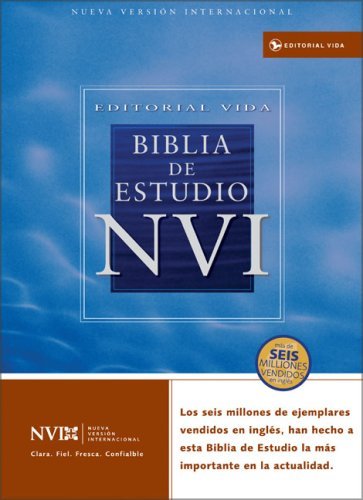 9780829736991: NVI Biblia de Estudio Piel Especial Negro