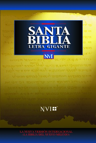 9780829737066: Santa Biblia - NVI Letra Gigante Tela Negro (Spanish Edition)
