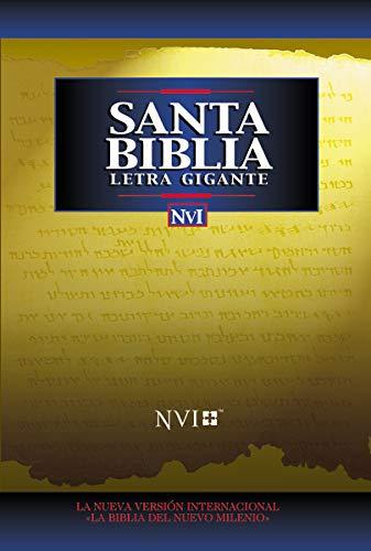 9780829737073: NVI Santa Biblia Letra Gigante Con Indice = Giant Print Bible-Nu