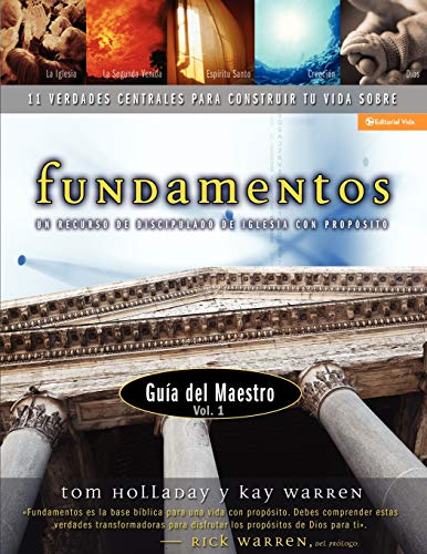 Fundamentos Manual Para El Maestro: v. 1 (Paperback): Tom Holladay, Kay Warren