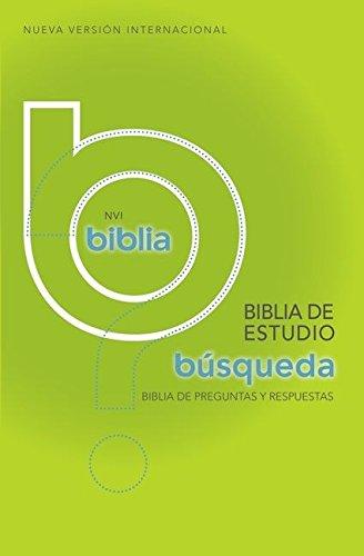 9780829739268: Biblia de estudio búsqueda NVI: Más de 5,000 respuestas a las preguntas más dificiles (Spanish Edition)