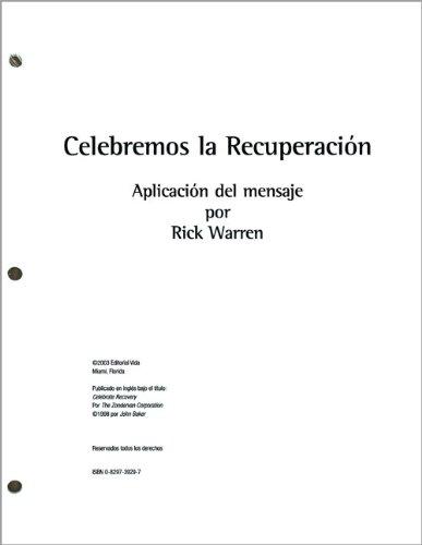 9780829739299: Celebremos la Recuperacion: Aplicacion del Mensaje