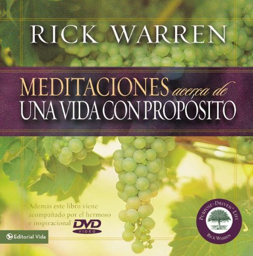 9780829739671: Meditaciones para una Vida con Proposito (Meditations On a Purpose Driven Life) (Spanish Edition)