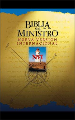 9780829742909: NVI Biblia del Ministro con Cierre Magnetico (Spanish Edition)