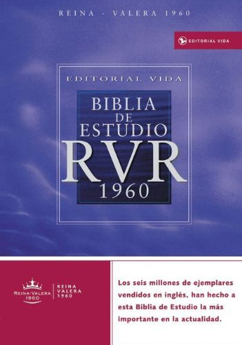 9780829744873: Editorial Vida Biblia de estudio RVR 1960 (Spanish Edition)