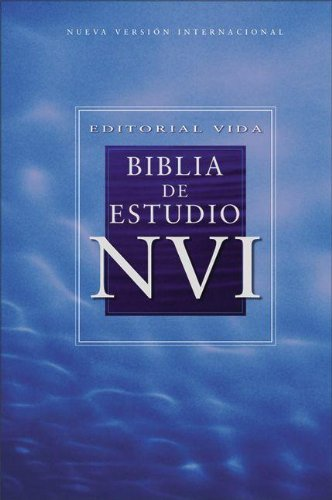 9780829744910: Biblia de estudio / Study Bible: Nueva Internacional Version, Negro, Piel Especial, Con Indice / New International Version, Black, Bonded Leather, Index